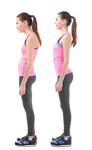 Posture Before and After